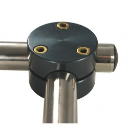 M-Series 90 degree Tube Connector