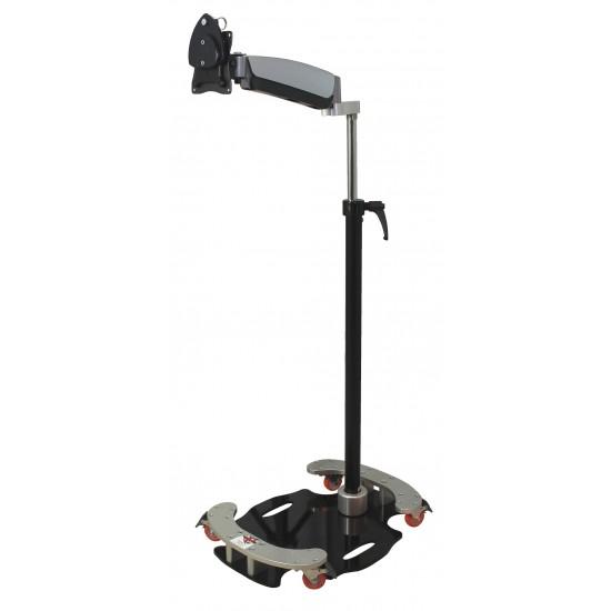 Mini Floorstand with Easy Adjust Arm