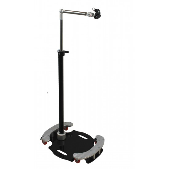 "Mini Floorstand with Fixed 8"" Arm"